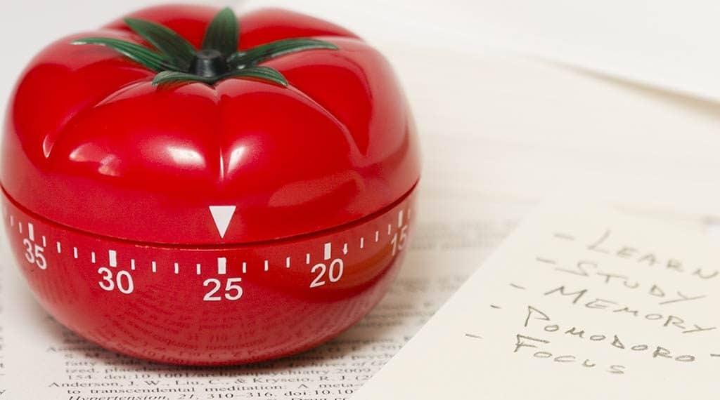 Kurzzeitwecker in Tomatenform