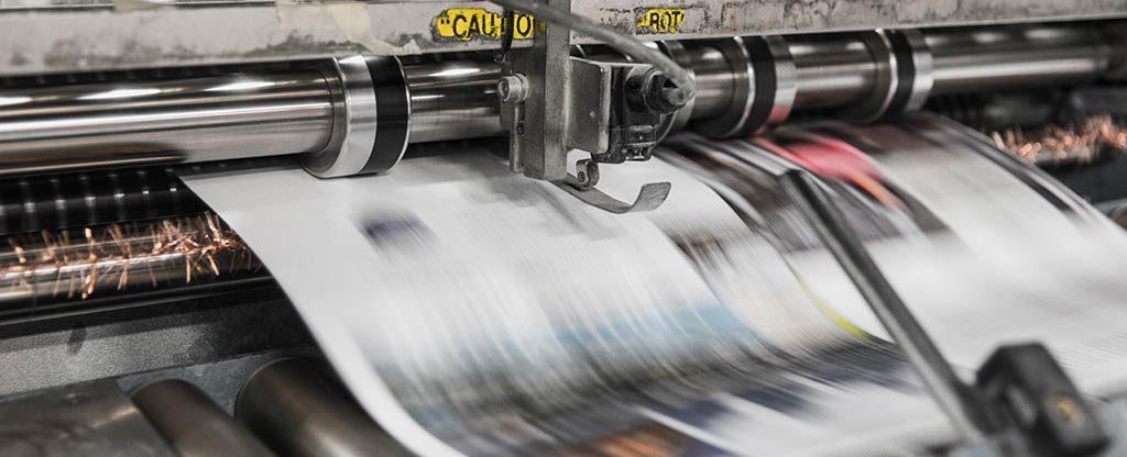 Zeitungen sind immer noch ein wichtiges Medium