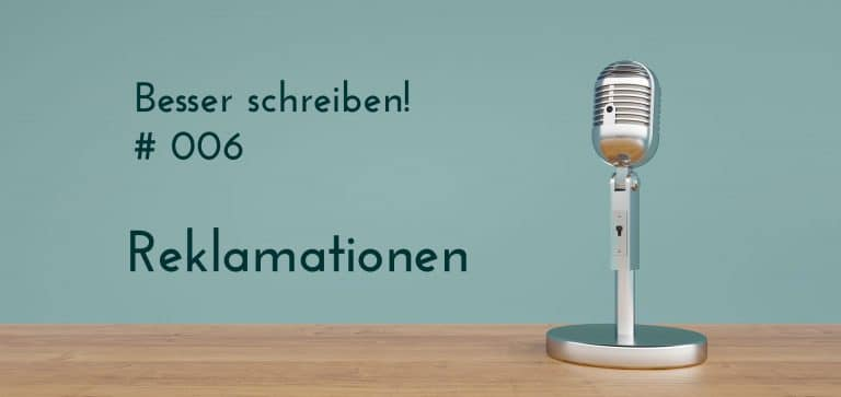 Podcast Reklamationen