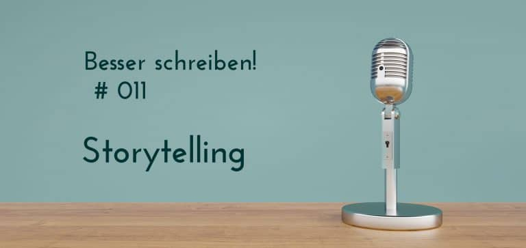 Podcastfolge Storytelling