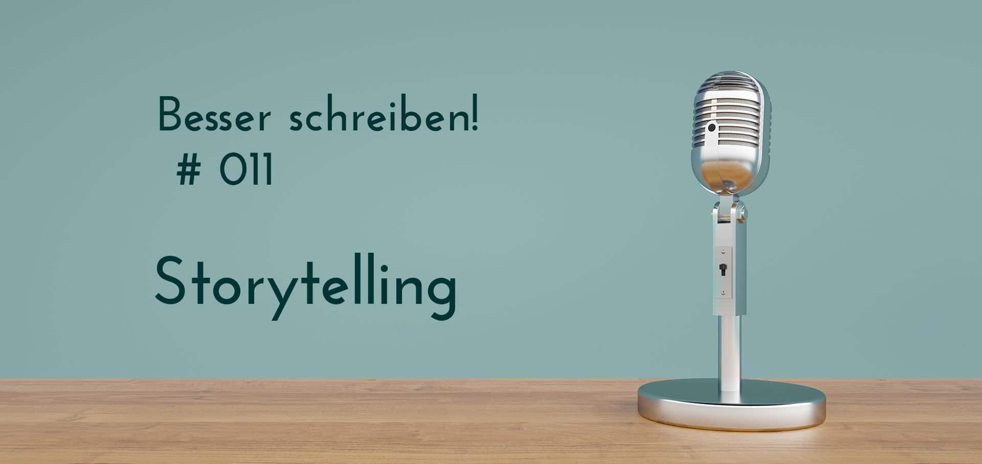 Podcastfolge Storytelling