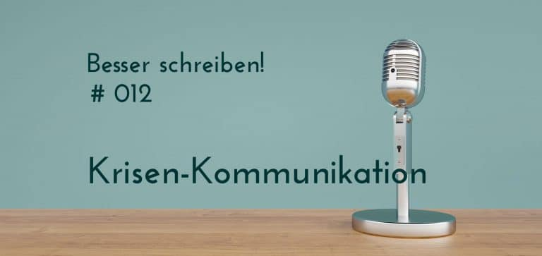 krisenkommunikation Podcastfolge