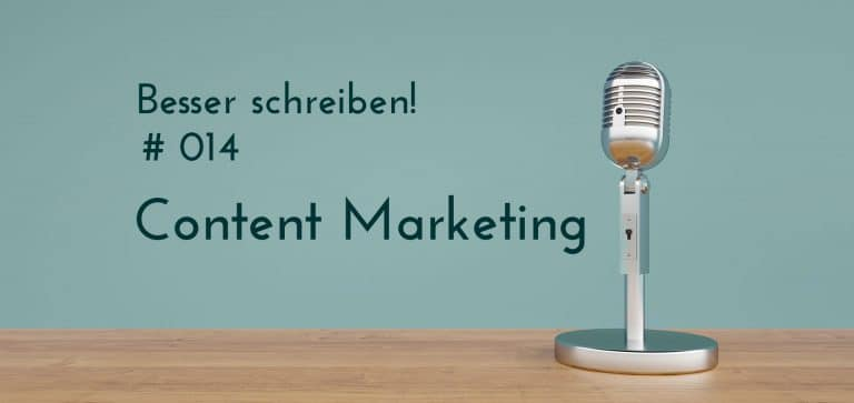 Podcastfolge content marketing