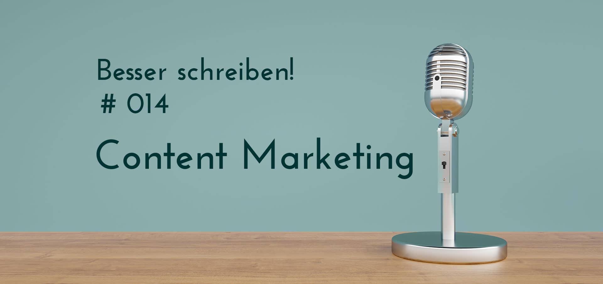 Podcastfolge content marketing