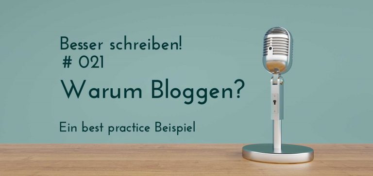 warum bloggen? best pracitice
