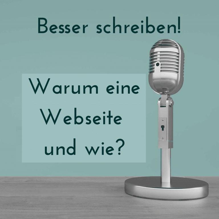 Warum eine eigene Website und wie?