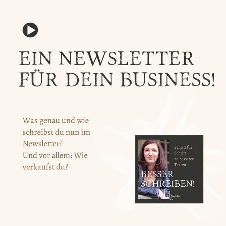 Ein Newsletter für dein Business! (Teil 2)